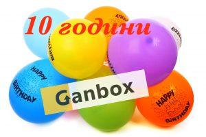 10 years ganbox