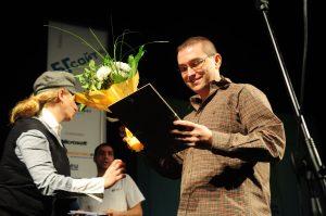 Връчване на наградата на БГСайт 2010 за ganbox.com
