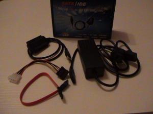 Комплекта на преходник USB SATA IDE