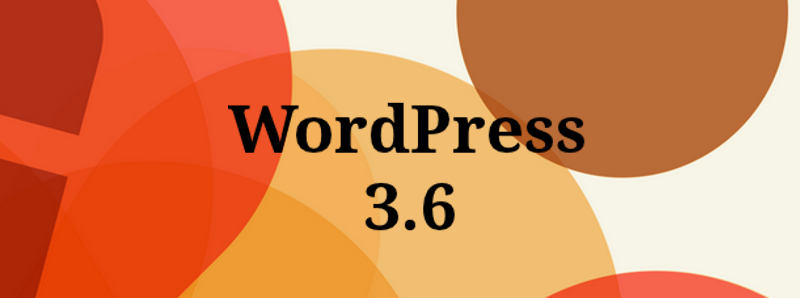 Wordpress версия 3.6