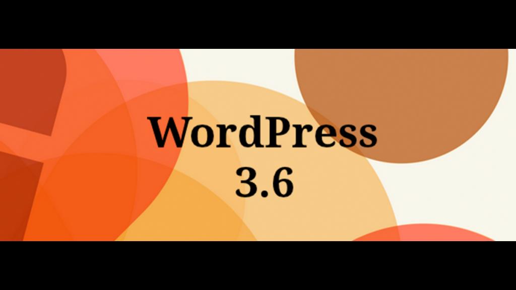 WordPress версия 3.6